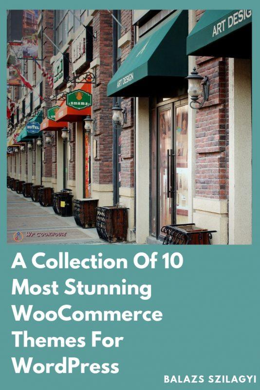 10 most stunning WooCommerce Themes WordPress
