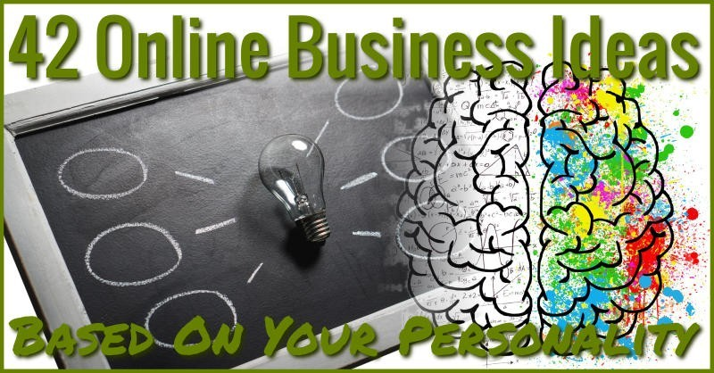 42 online business ideas based on your personality