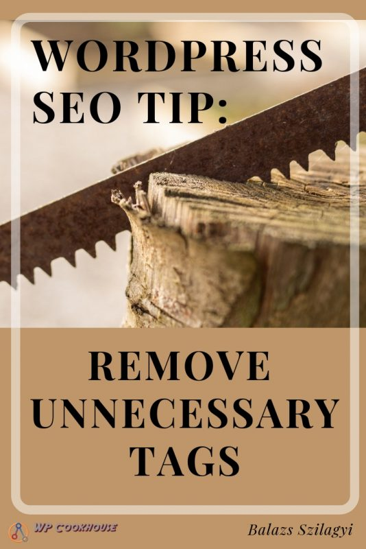5 tips to improve seo in wordpress remove tags