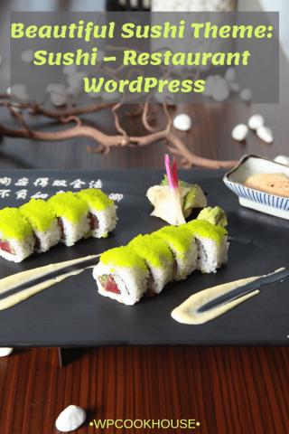 Beautiful Sushi Theme WordPress