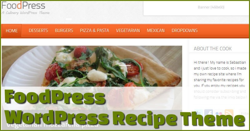FoodPress Recipe Theme