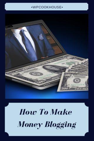 How to Make Money Blogging 320x480