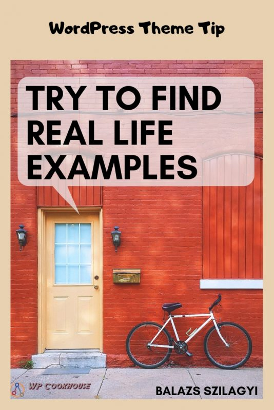 How to choose a wordpress theme find real life examples