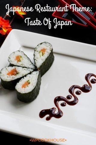 Japanese Restaurant Theme WordPress