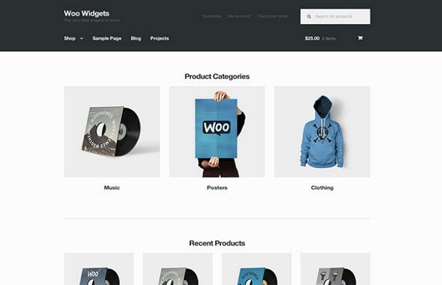 Storefront WooCommerce theme screenshot