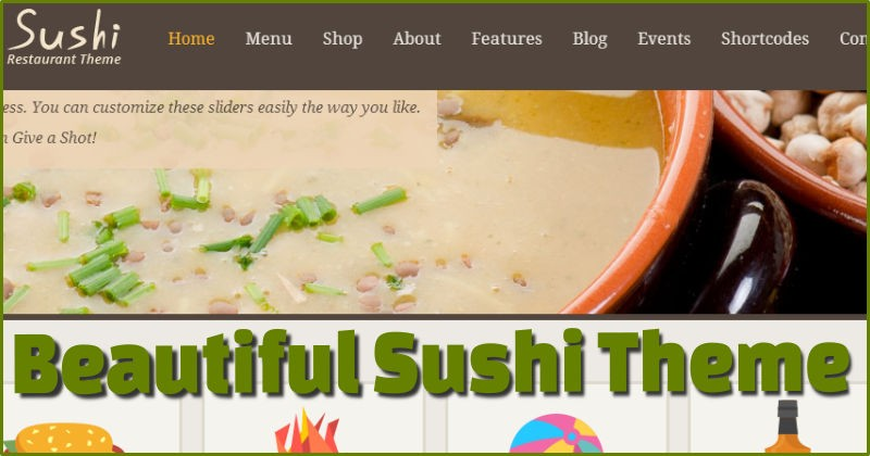 Sushi Retaurant Theme
