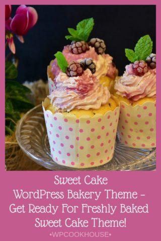 Sweet Cake WordPress Bakery Theme