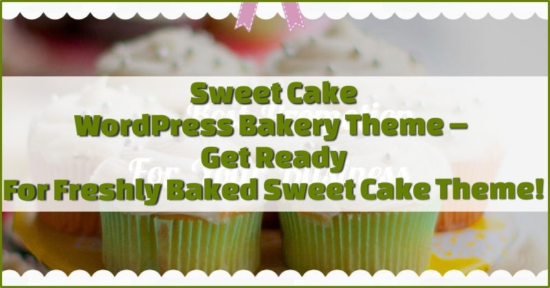 Sweet Cake Bakery Theme