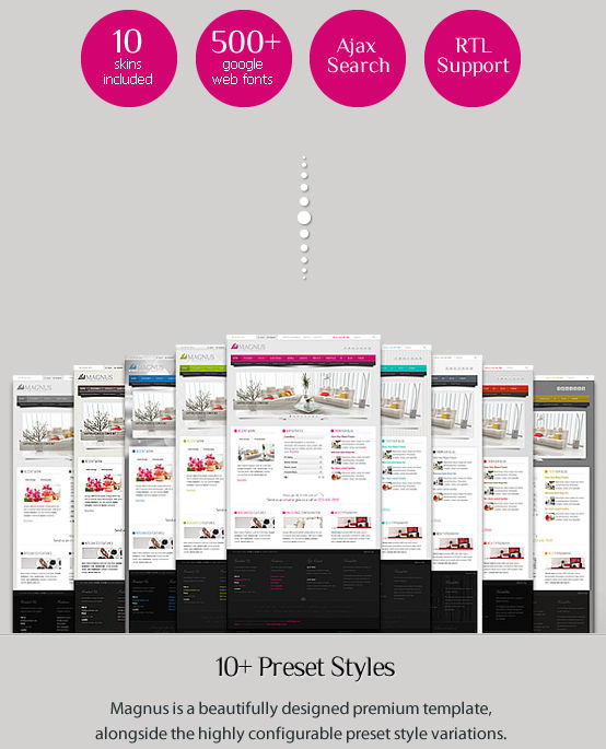 Theme Sales Page Example