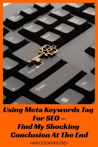 Using Meta Keywords Tag For SEO