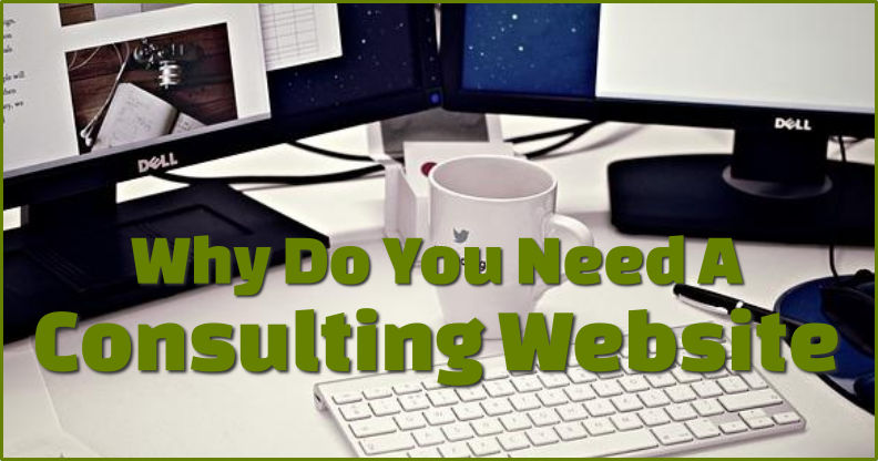 Consulting website