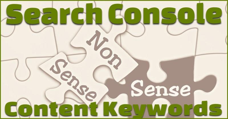 Content keyword