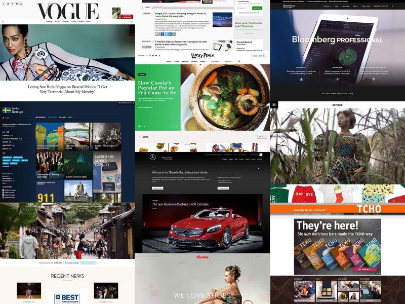 Free WordPress theme collage