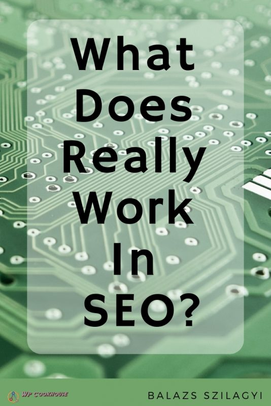 Golden Rule os SEO what does really work in SEO