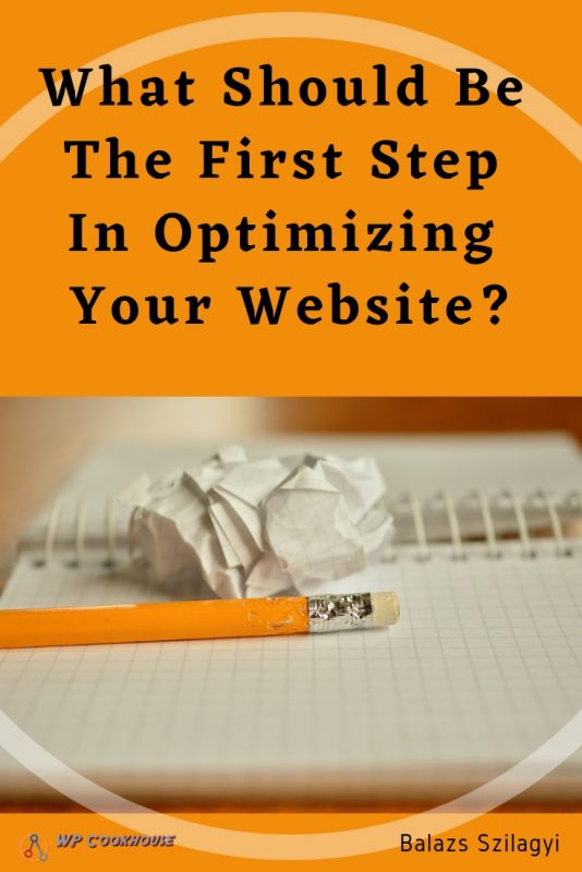 Golden Rule of Seo what should be the fist step