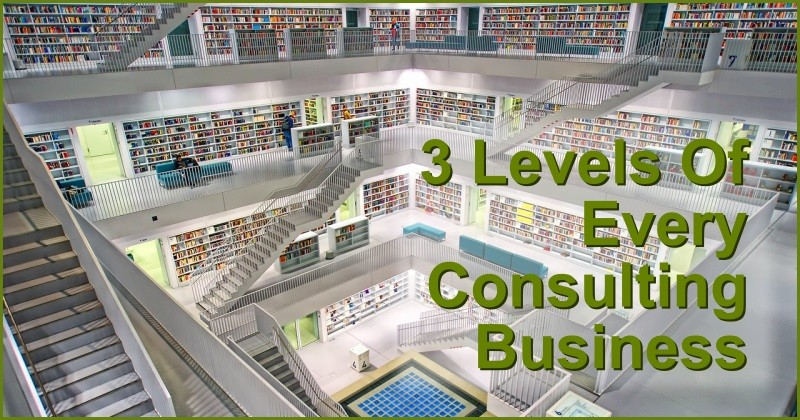 3 levels odf every consulting business