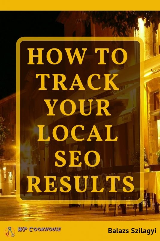 how to track your local seo results