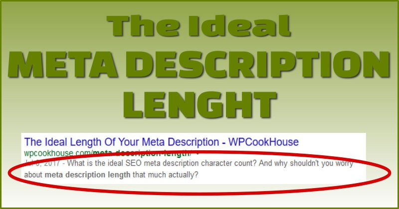Meta description length