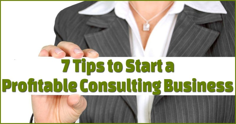 Profitable consulting business tips