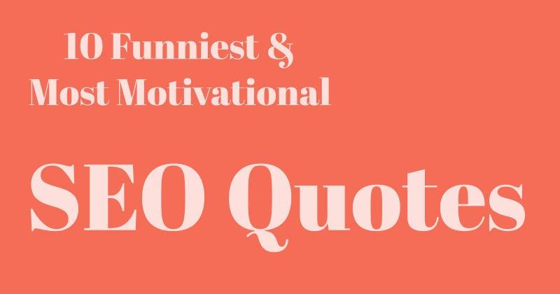 SEO Quotes