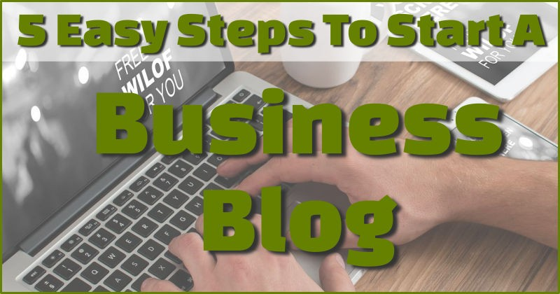 Starting a business blog